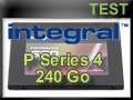 Test SSD Integral P Series 4 240 Go
