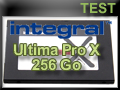 Test SSD Integral Ultima Pro X 256 Go