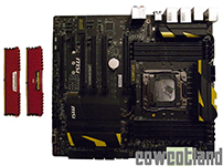 MSI X99 XPower Comparatif processeur Intel Core I5 et I7 en overclocking