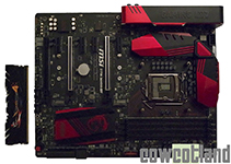 MSI Z170 Gaming M7 Comparatif processeur Intel Core I5 et I7 en overclocking