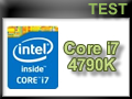 Test processeur Intel Core i7-4790K