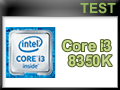 Test Processeur Intel Core i3-8350K