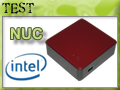 Test Mini PC Intel NUC