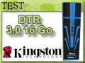 Test clé USB Kingston DTR 3.0 16 Go