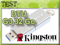 Test clé USB 3.0 Kingston DTU G3 32 Go