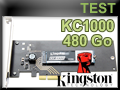 Test SSD Kingston KC1000 480 Go