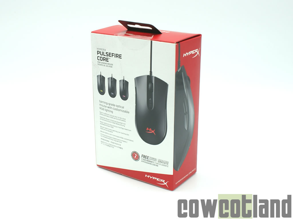 image 38023, galerie Test souris Gaming HyperX Pulsefire Core RGB