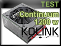 Test alimentation Kolink Continuum 1200 watts
