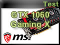 Carte graphique MSI GTX 1060 Gaming X