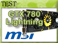 MSI GTX 780 Lightning, place au SLI