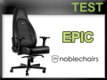 Test fauteuil Gaming noblechairs ICON