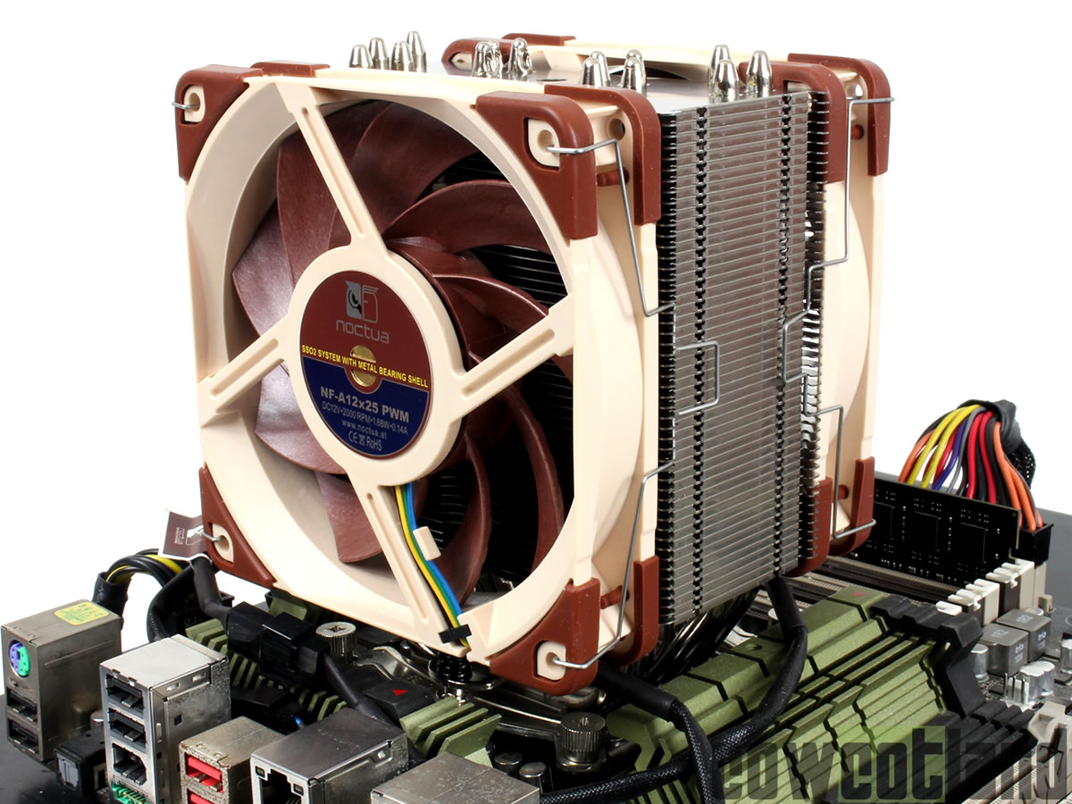 image 39025, galerie Test ventirad Noctua NH-U12A : L'aircooling aussi fort que le watercooling ?