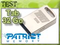 Test clé USB Patriot Tab 32 Go