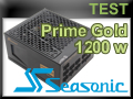 Test alimentation Seasonic Prime Gold 1200 watts