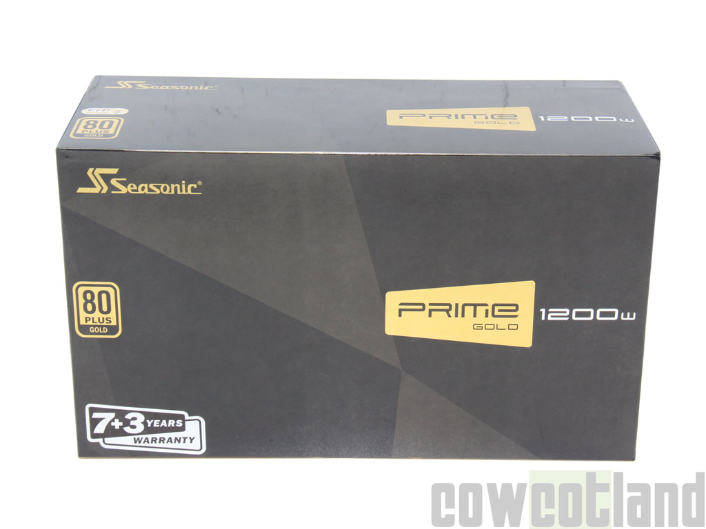 image 32952, galerie Test alimentation Seasonic Prime Gold 1200 watts