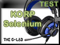 Casque The G-Lab KORP Selenium