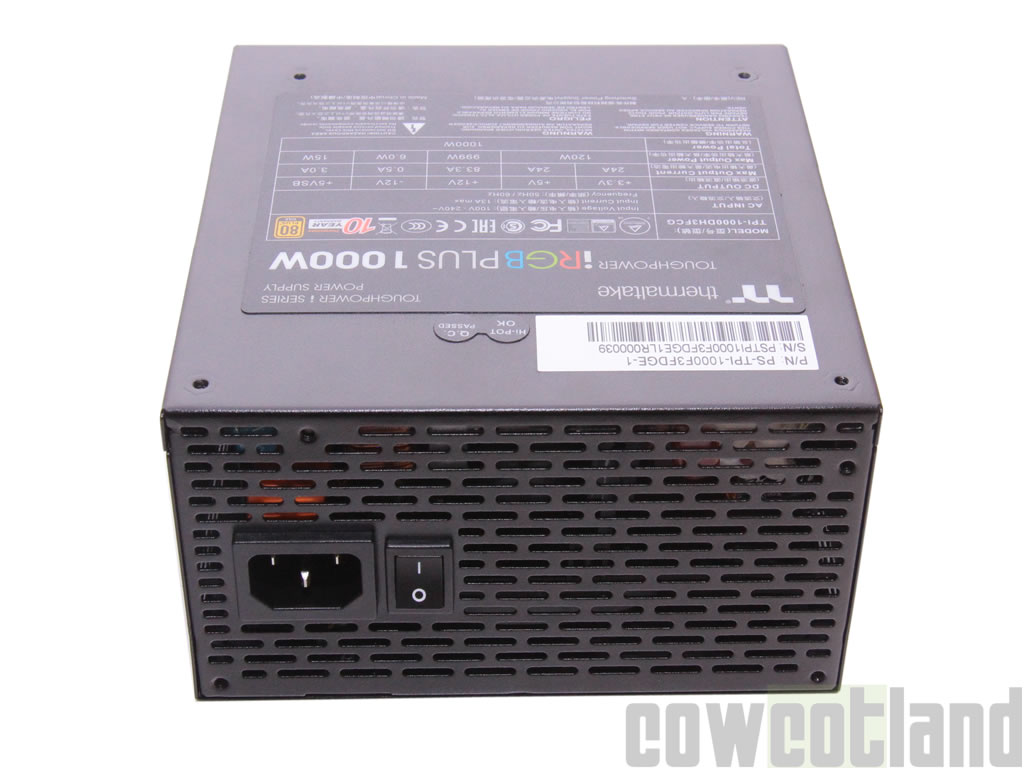 image 38183, galerie Test alimentation Thermaltake Toughpower iRGB PLUS 1000 watts