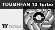Test ventilateur Thermaltake TOUGHFAN 12 Turbo, costaud !
