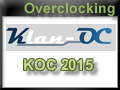 Week-end overclocking KOC 2015