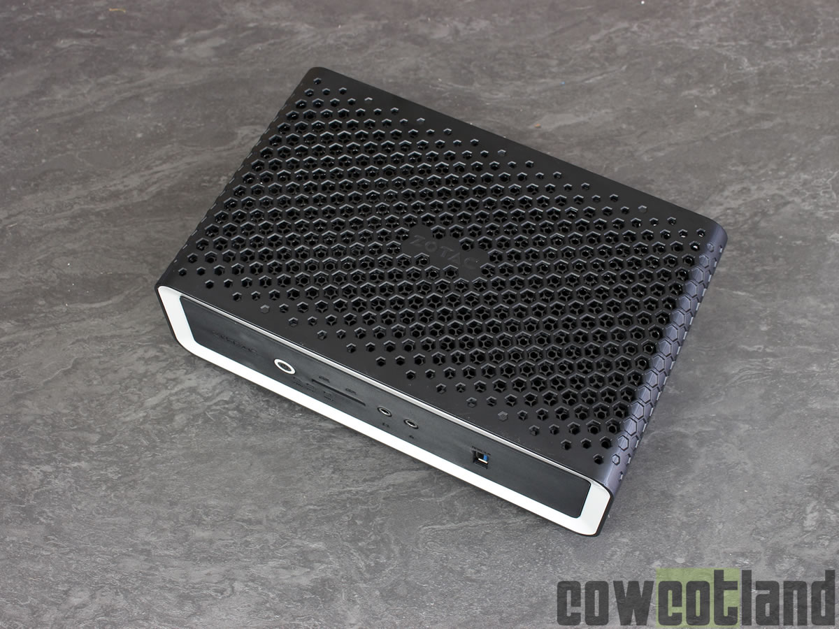 image 42264, galerie Test Mini PC ZOTAC ZBOX CA621 nano ; AMD Ryzen Fanless inside