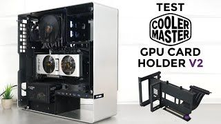 [Cowcot TV] Test COOLER MASTER UNIVERSAL VERTICAL GPU CARD HOLDER V2 : trop trop pratique