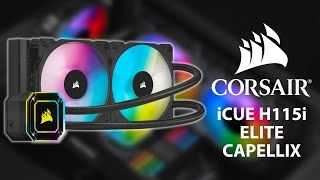 [Cowcot TV] Présentation watercooling AIO CORSAIR iCUE H115i ELITE CAPELLIX