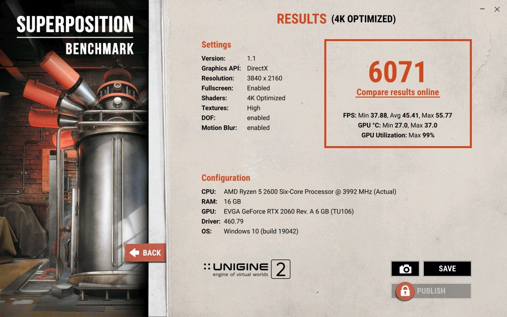 Superposition Benchmark V1.1 6071 1609238044