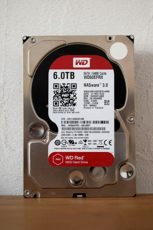 Wd Red 5400tpm/64go