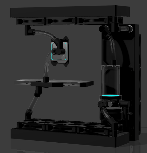 Projet Watercooling Custom